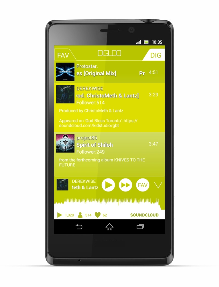 DIGLOO app